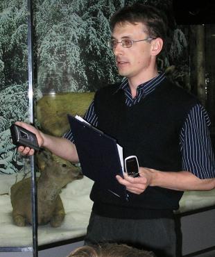 Сотрудник музея Бологов И.О.