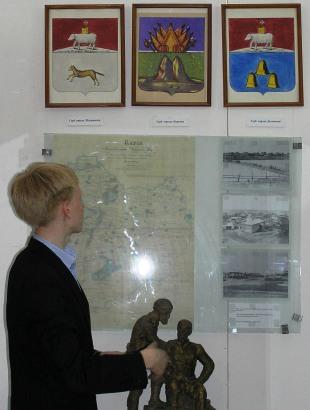Ивачев Андрей рассказывает о гербе города Кургана