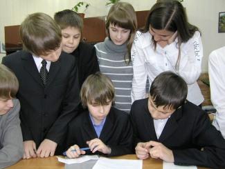 Команда «Гашники» выполняет тест