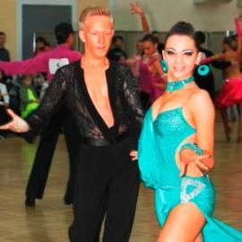 Танцевальная пара: Смагина Дарья, Ивачев Андрей